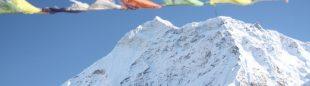 El Makalu visto desde la cima del Ama Dablam.  (©Luis Miguel López Soriano)