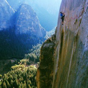 El trabajo de Jonathan Siegrist y Tommy Caldwell en el Dawn Wall del Capitán (Yosemite)  (Col. J. Siegrist)