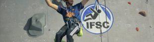 Adria Placer ganador sub16 masculino. Federación Catalana. Campeonato España  Escalada Juvenil 2013