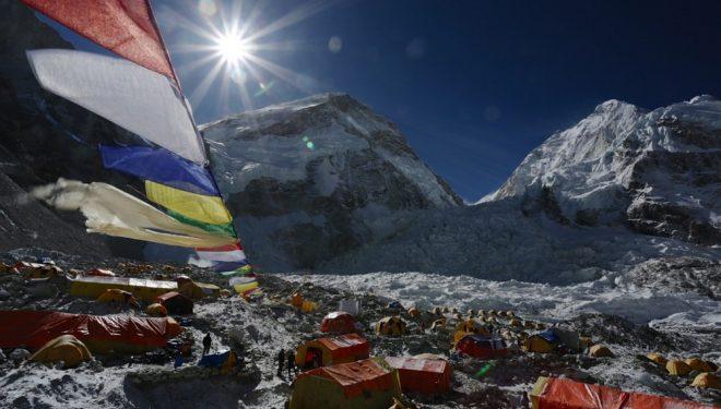 Campo base del Everest  (Ferran Latorre)