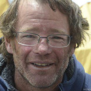 Damián Benegas al día siguiente de llegar al campo base tras rescate que realizó