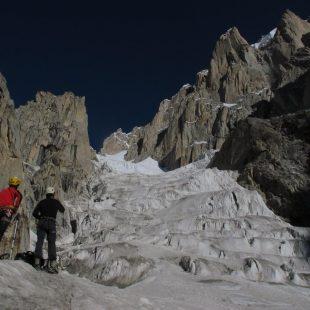 Acceso peligroso para Zabalza y Vallejo. Paiju Peak  ()