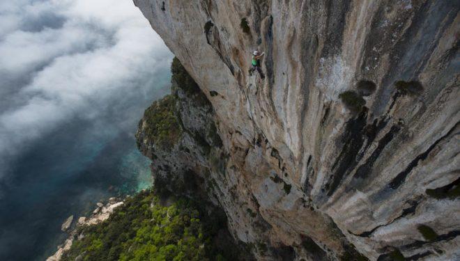 Caroline Ciavaldini en Zembrocal (130 m
