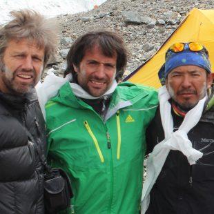Álex Txikon en el K2 (8.611 m)