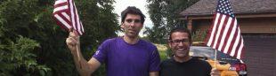 Dani Andrada y Miguel Riera
