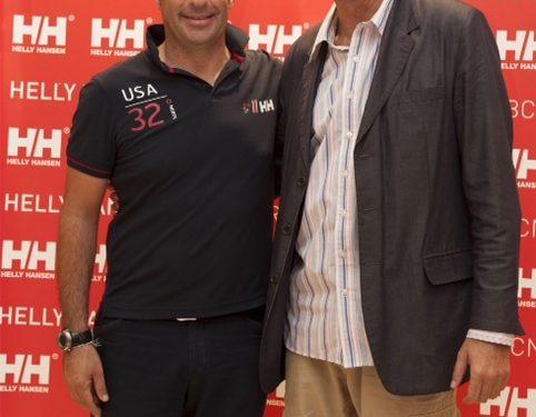 Jordi Moix y Carlos Bravo de Helly Hansen  ()