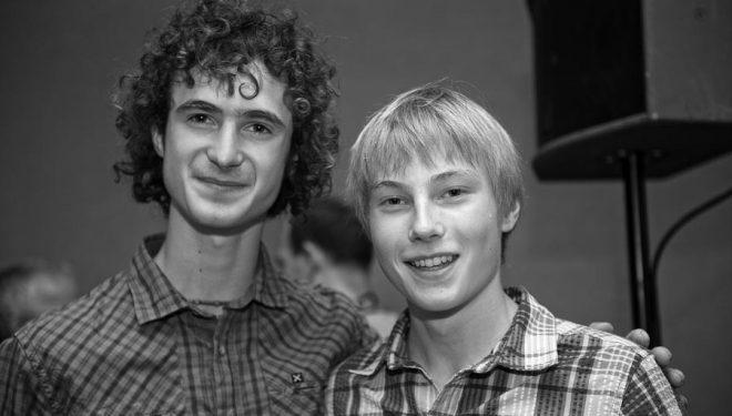 Adam Ondra y Alex Megos Rock Master Festival 2013.  ()