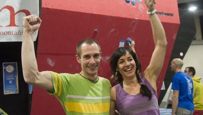 Nacho Sánchez y Teresa Troya ganadores de la tercera prueba Copa España Bloque 2013