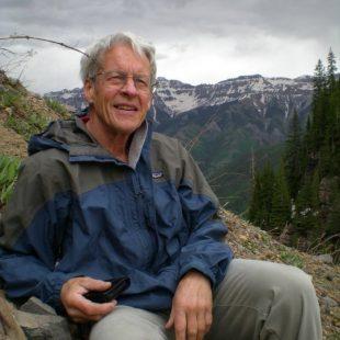 George Lowe en una excursión en Bear Creek