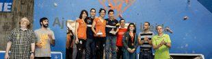 Podio final de la Copa de España 2014  (Carlos Pérez/Top30)