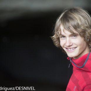Mikel Linacisoro Molina (13 años) esquiador y escalador  (c) Darío Rodríguez/Desnivel)