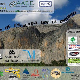 Cartel I Rally 12h El Chorro.  (A.A.E.E.)