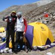 Adam Bielecki y Alex Txikon en la ruta británica del Kangchenjunga 2014  ()