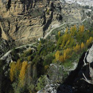 Ruta por los Tajos del río Alhama en Sierra de Alhama.  (David Munilla)