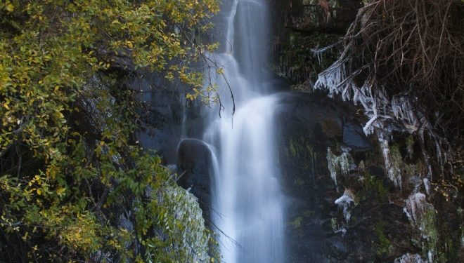 La Chorrera de Hervás en el Valle de Ambroz