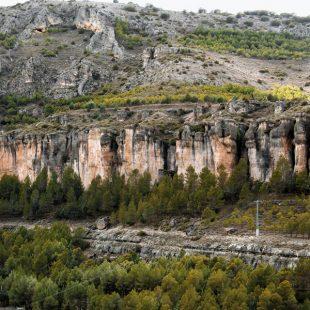 Vista panorámca del sector Piscinas en Cuenca.  ()