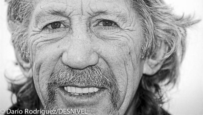 Jim Bridwell en el Festival de Cinema de Muntanya de Torelló 2002  (© Darío Rodríguez/DESNIVEL)