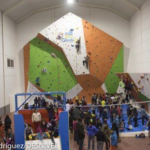 Inauguración :Climbat Griñón  (© Darío Rodríguez/DESNIVEL)