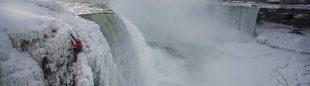 Will Gadd en las Cataratas del Niagara  (Christian Pondella/Red Bull)