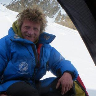 Tomasz Mackiewicz antes de regresar a casa tras su intento al Nanga Parbat invernal (2015)  (Daniele Nardi)