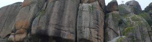 Zona de escalada del Indio
