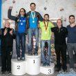 Podio masculino del Campeonato de España de Búlder 2015: Marco Jubes (1)