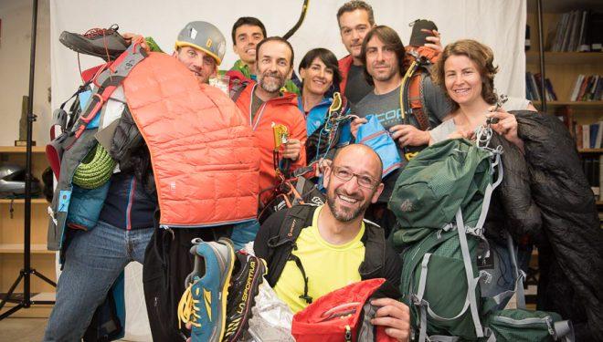 Reunión del jurado del Premio Desnivel de Material de Montaña y Outdoor. Abril 2015  (©Darío Rodríguez)