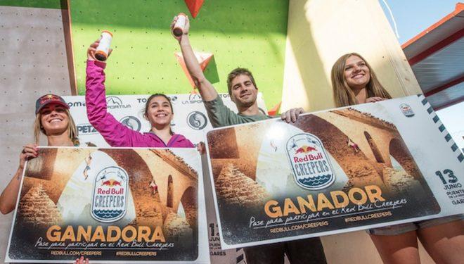 Ana Belén Argudo y Daniel Moreno  ganan la segunda prueba del Trangoblock 2015  (Los Carras)
