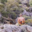 Ethan Pringle tras encadenar Jumbo love 9b de Clark Mountain  (The RV Project)