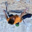 Ethan Pringle en Jumbo love 9b de Clark Mountain  (The RV Project)