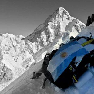 El K2 desde el C3 del Broad Peak  (Mariano Galván)
