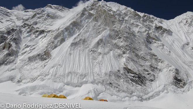 Campo 1 del Everest