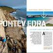 Acantilados de Pontevedra en la revista Escalar nº 99.  ()