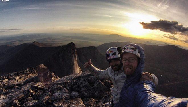 Hermanos Pou en la expedición a Siberia con el TNF Team. Julio 2015  (Hermanos Pou)