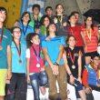 Todos los podios del Campeonato de España de Escalada Juvenil 2015  (Isaac Fernández / Desnivel)