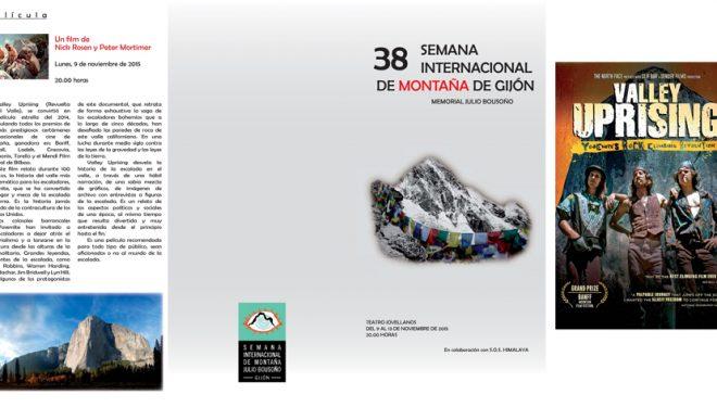 Cartel 38 edición Semana Internacional de Montaña de Gijón 2015  ()