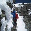 Oriol Baró durante la ascensión de Yeguas salvajes al Cerro Yeguas Heladas (Andes chilenos)  (Col. O. Baró)