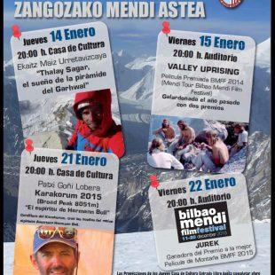 Cartel Semana de Montaña de Sangüesa 2016  ()