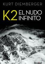 K2. El nudo infinito.  por Kurt Diemberger. Ediciones Desnivel