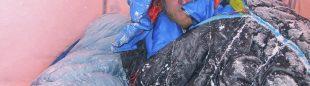 Tomek Mackiewicz en el Nanga Parbat (invierno 2015)  (©Elisabeth Revol)