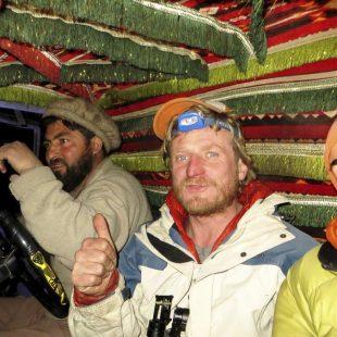 Tomek Mackiewicz y Elisabeth Revol en un mometo de su expedición al Nanga Parbat (invierno 2015)  (©Elisabeth Revol)
