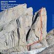 Línea de Knobmania a la Aguja El Tridente (Patagonia)  (Rolando Garibotti / Pataclimb.com)