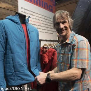 Steve House con la chaqueta Nano Air de Patagonia