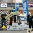 Podio femenino de la primera prueba de la Copa de España de Dificultad 2016 en el Cagigal