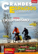 Portada de la revista Grandes Espacios nº 224. Especial Cicloturismo [WEB]  ()