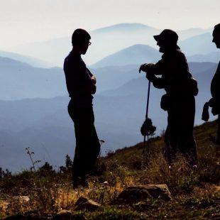 Un horizonte múltiple aparece al sur de los montes de Fanlo.  (Eduardo Viñuales Cobos)