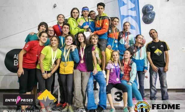Un centenar de escaladores de futuro en el Campeonato de Escalada Juvenil 2016  (Carlos Pérez)