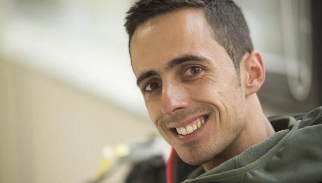 Javi Cano ganó la cuarta prueba Copa España Escalada en Bloque 2016 celebrada en el rocódromo Sharma Climbing de Barcelona.  (@Darío Rodríguez/DESNIVEL?)