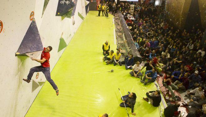 Javier Meng quedó séptimo en la 3ª prueba Copa España Escalada Bloque celebrada en The Climb