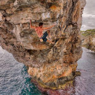 Jernej Kruder en Es Pontás. Mallorca  ()